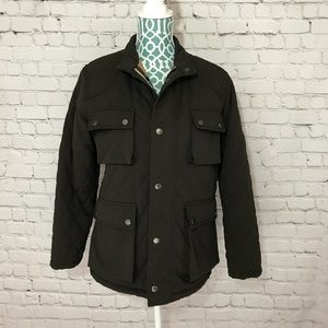 Burberry Quilted Zip Up